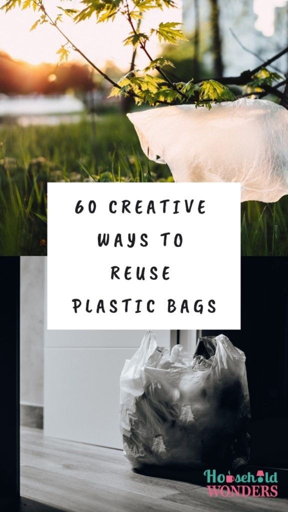 creative ways to reuse plastic bags