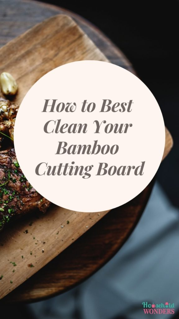 how to best clean your bamboo cutting board